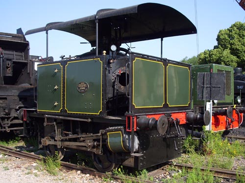La locomotive Cockerill Suzanne