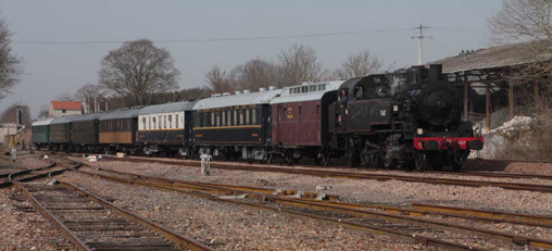 141 TB 407 Train d'essais du 17 Mars 2010