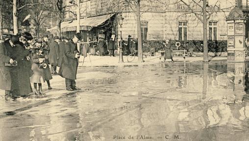 inondation paris 1910 alma