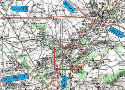 Situation du Musée à 7 km au sud de Provins en Seine et Marne
