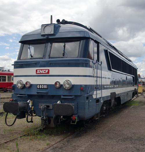 La locomotive diesel electrique A1A A1A 68081
