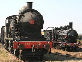 La 140 C 231 et la 30.476 EST