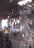 La cabine de conduite de la 141 TB 407