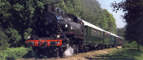 Train spécial vapeur 141TB407