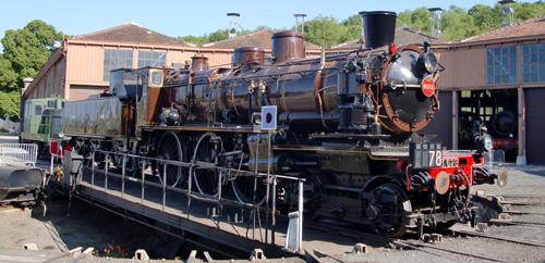 La 230D116 au dépôt de Longueville